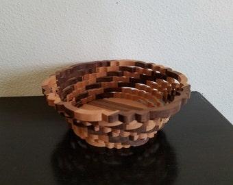 Handmade Scroll Saw Bowl/Basket