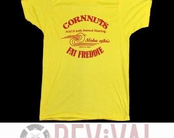 Vintage Hawaii Corn Nuts T Shirt ~ L