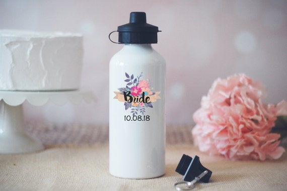 Bride Water Bottle, Custom Water Bottle, Future Bride Waterbottle, Personalized Water Bott, Bridesmaid Proposal, Sweating For The Wedding