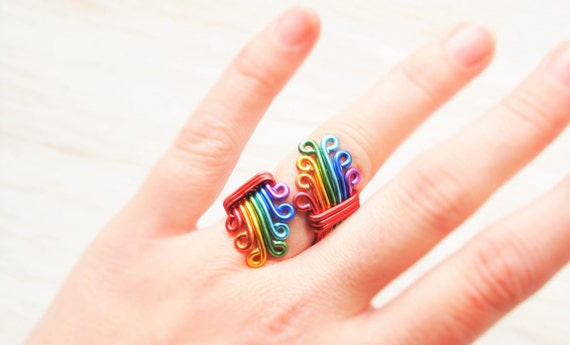 from Kashton gay pride rings