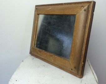 Vintage Cohasset Colonial Hagerty Wood Mirror