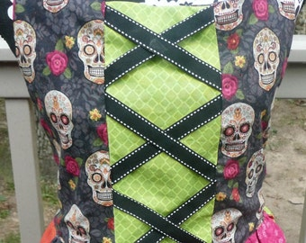 Halloween Apron, Witch Apron, Halloween Costume, Witch Costume, Novelty Apron, Whimsical Apron, Dress Up Witch Costume