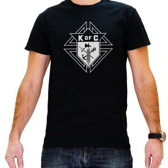 Knights Of Columbus Men 39 S Black Masonic T Shirt By