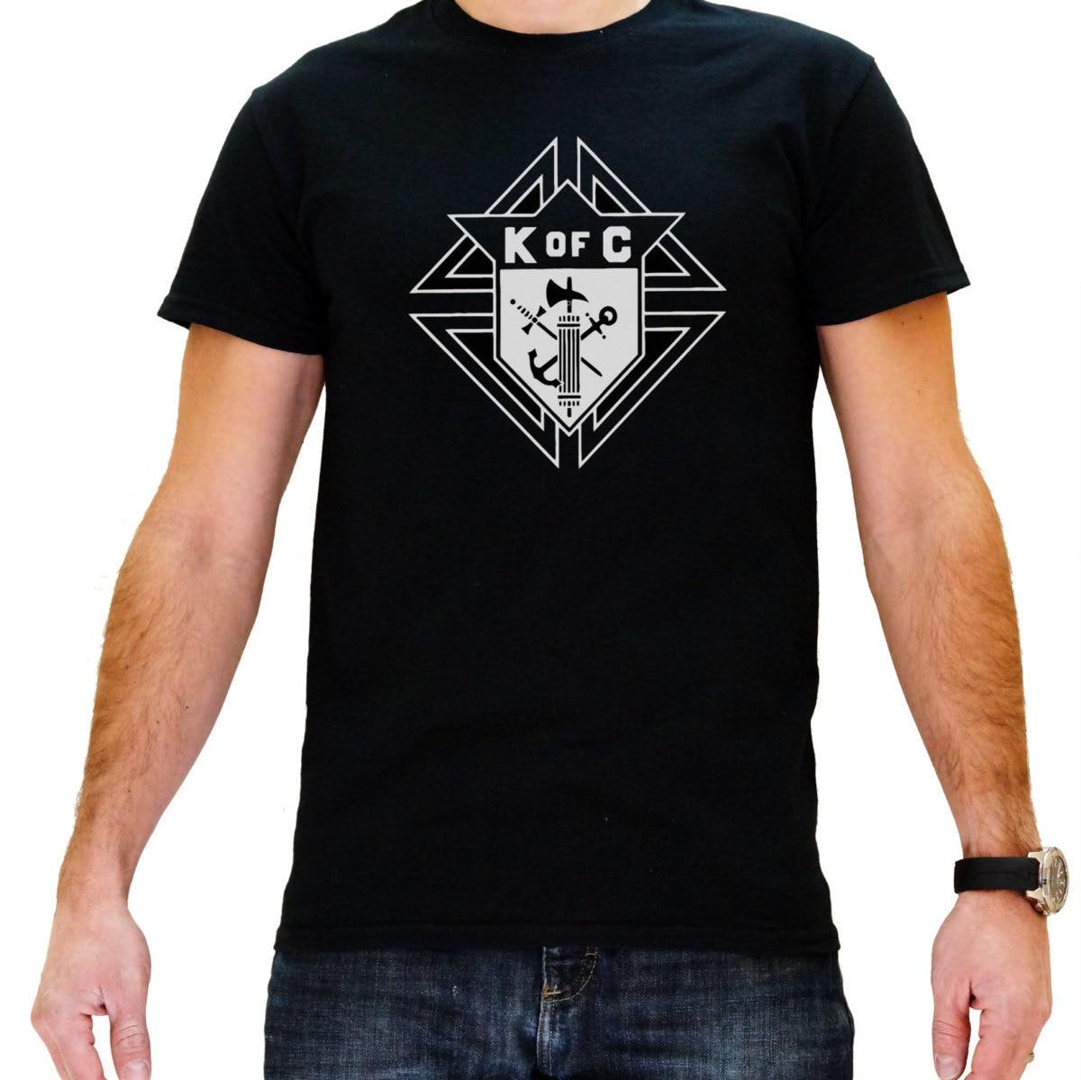 Knights of columbus men 39 s black masonic t shirt by for Mason s men s shirts