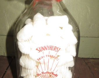 Sunnyhurst Farms Dairy Products Stoneham Mass Milk Bottle Rocky Marciano