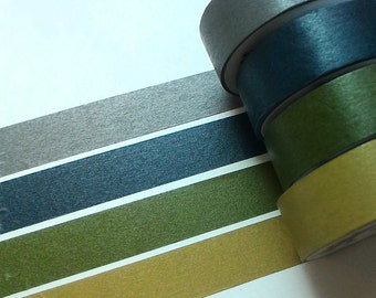 BIG SALE ~Forest style washi tape set (4 roll)