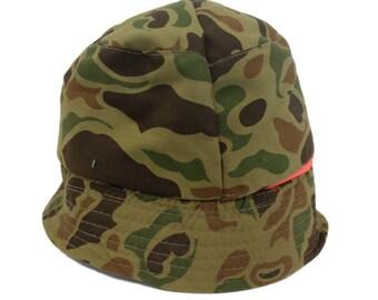 Camouflage Reversible Vintage 1990's Bucket Hat
