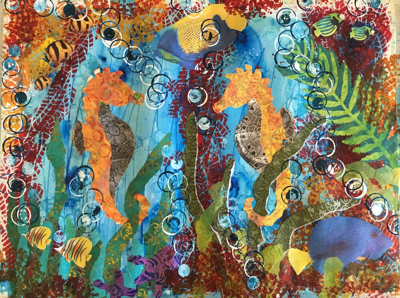 Art Décor: Seahorse Wall Decor Ocean Wall Art Seahorse Seahorse Art