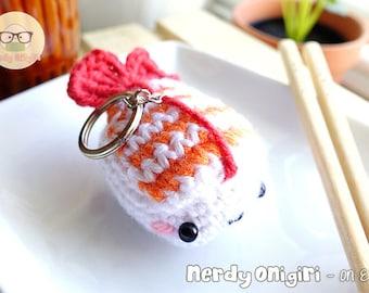 Ebi/Shrimp Sushi Keychain