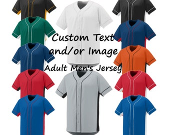 Custom Baseball Men's/Unisex Jerseys, Baseball Jersey, Custom Jersey, Custom Baseball Jersey, Mens Baseball Jersey, Womens Baseball Jersey
