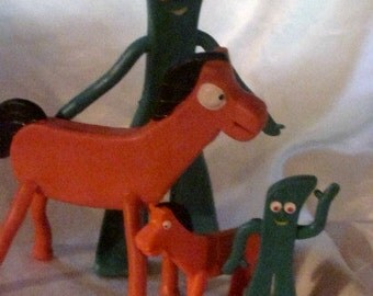 Gumby and pokey | Etsy