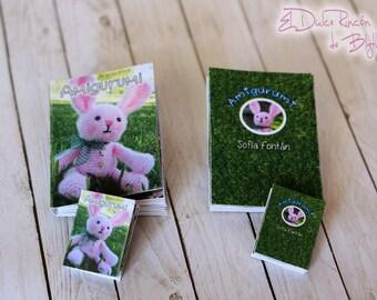 "Miniature ""Amigurumi"" book"