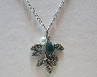 Green Leaves Necklace