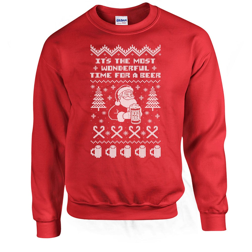 Funny Christmas Sweater It's The Most Wonderful Time For A
