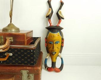 Vintage african mask, beautiful patina