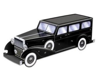 Gangster Car Centerpiece