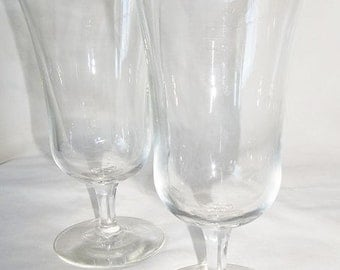 ON SALE WAS 8.00....Sherry Copita Glasses, Tulip Shaped