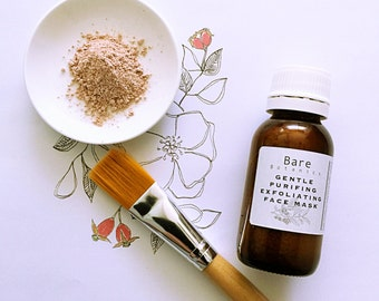 GENTLE FACE MASK | Exfoliating | Clear & Tone | Helps reduce pore size | Vegan |