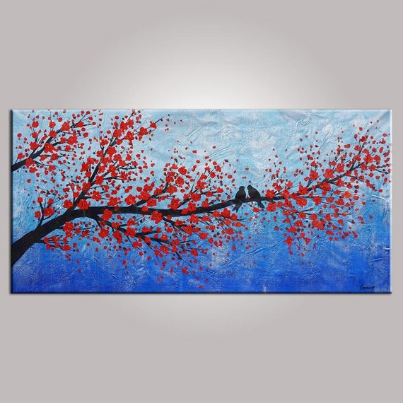 ... Painting, Abstract Painting, Abstract Art, Wedding Gift, Canvas Art