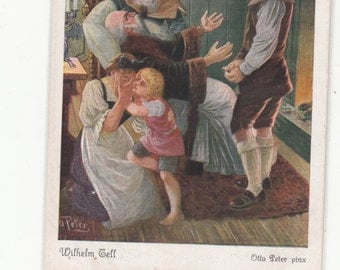 Brothers Grimm Fairy Tale ,Early Postcard, One Of Twenty In Collection,Lovely Color