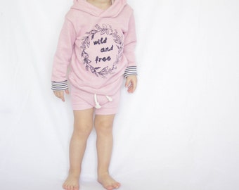 Very Soft And Cozy Baby sweatshirt, Blush Pink Hoodie, Baby Sweatshirt