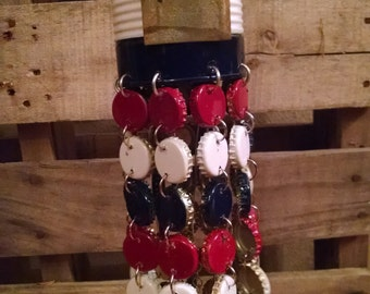 Red, White and Blue Wind Chime