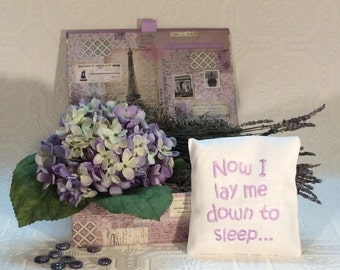 Lavender Sleep Pillow Petit