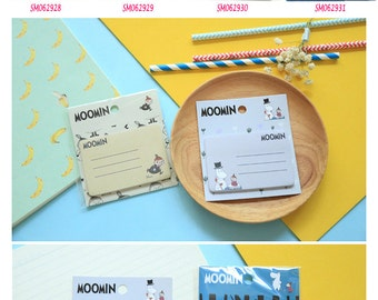 Moomin Post IT Notes Sticky Memo