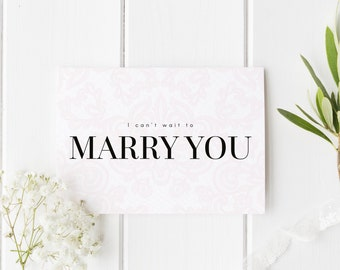 I Can't Wait To Marry You, See You At The Altar Card, Elegant Lace Groom Card, Bride Wedding Day Card, Card For Groom, Card For Bride