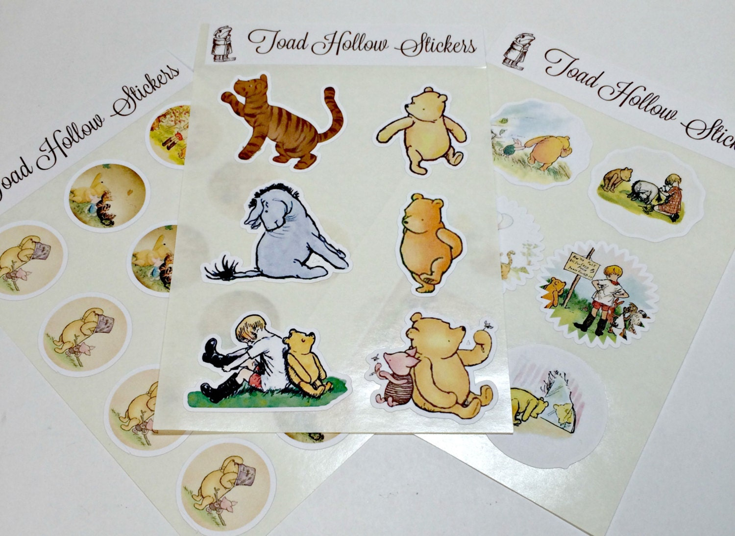 Stickers winnie the pooh sticker classic pooh envelope for Classic winnie the pooh mural