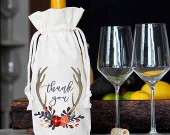 Thank You Wine Bag | Thank You Gift
