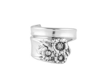 Spoon Ring, Silver spoon jewelry, Vintage spoon ring, Handmade ring, Silver ring, Spoon Jewelry