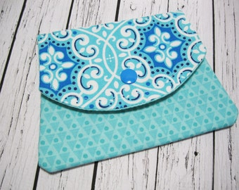 Fabric Womens Wallet, Credit Card Holder, Fabric Wallet, Business Card Holder, Gift Card Holder, Gift Under 20 For Her
