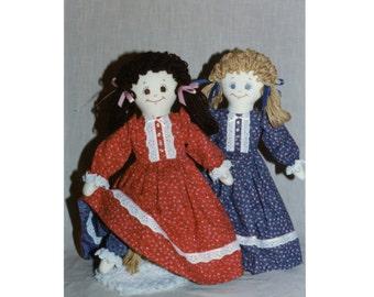 Rose Ellen - Reversible Doll Pattern (PDF)