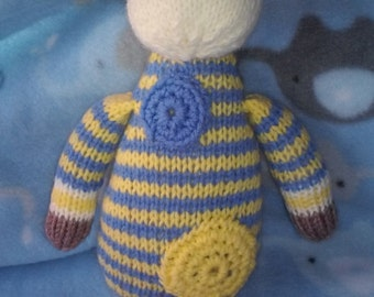 Stripey Boy Giraffe Soft Toy