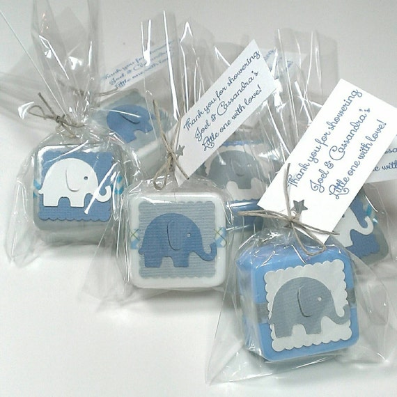 baby shower favors boy elephant baby shower favor boy baby shower