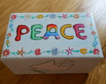 Peace gift/trinket/decorative/ornamental box