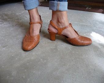 Escarpins cuir Taille 38