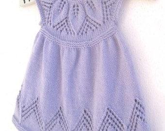 Bella Baby Knitting Patterns : Ice blue Dress , Crochet Dress , Baby Dress , Dress Pattern from CrochetMonki...