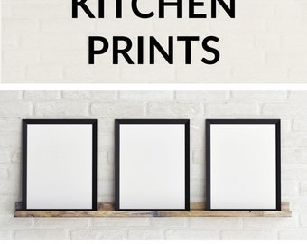 View Kitchen Prints by Follygraph on Etsy