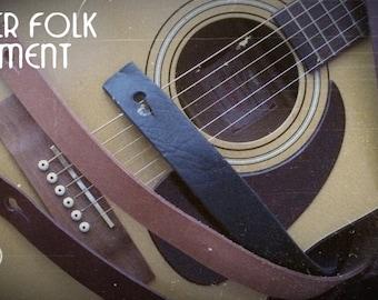 Gutar & folk instrument leather strap