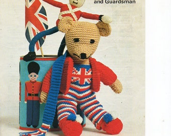 Crochet union jack Etsy