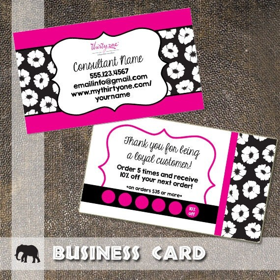 Thirty e Business Card Thirty e Gifts