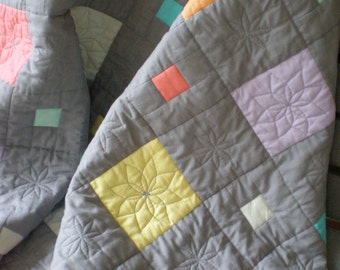 Lap Quilt or Baby Quilt