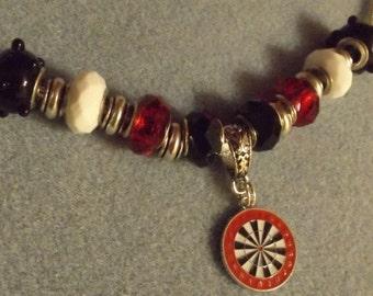 Dart Board Necklace