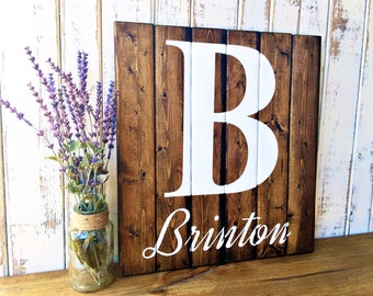 Personalized Sign | Rustic Wedding | Wedding Guest Book | Family Established Sign | | Wedding Gift