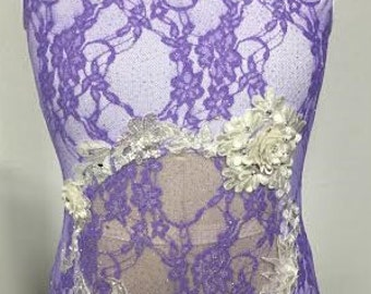 Youth Large Lilac Dance Costume