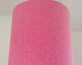Linen Drum lampshade 30 cm x 30 cm height