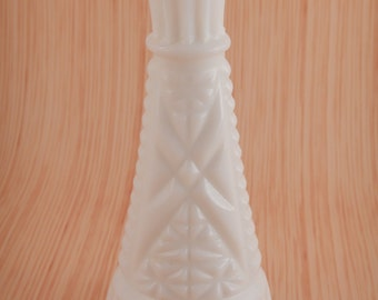 Small Milk Glass Bud Vase