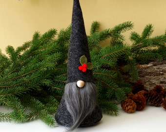 Holiday Christmas Gnome, Gifts for Her, Christmas Gift, Hostess, Get Well, Nordic Gnome, Christmas Decoration, Santa by The Gnome Makers